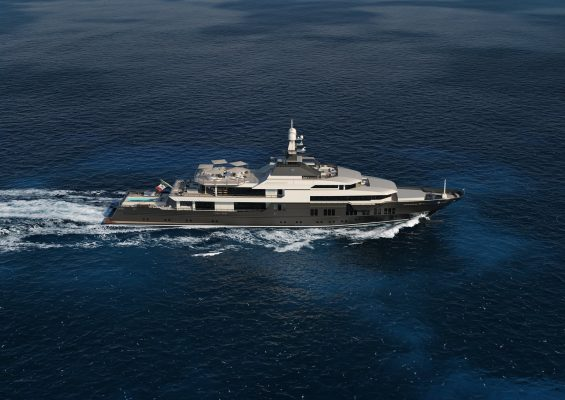 83m VSY naval architecture by Laurent Giles Naval Architects  Ltd