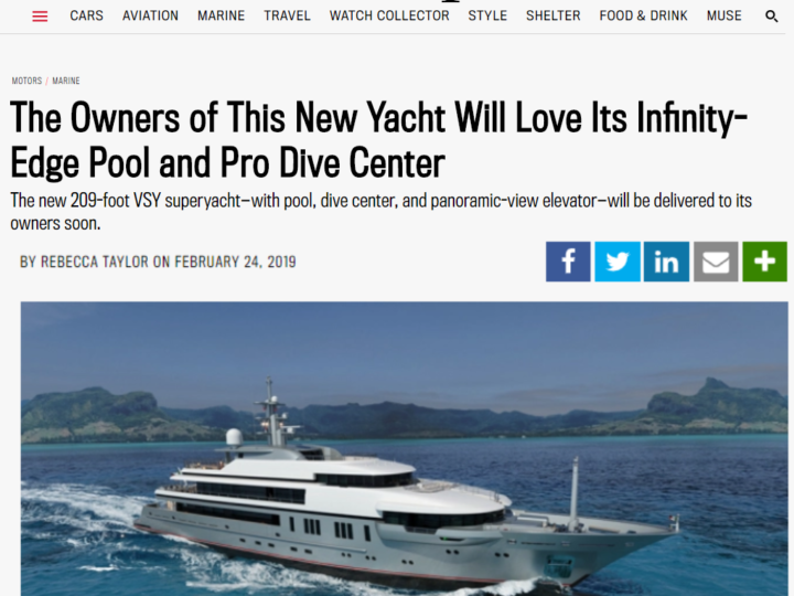 The Owners of This New Yacht Will Love Its Infinity-Edge Pool and Pro Dive Center